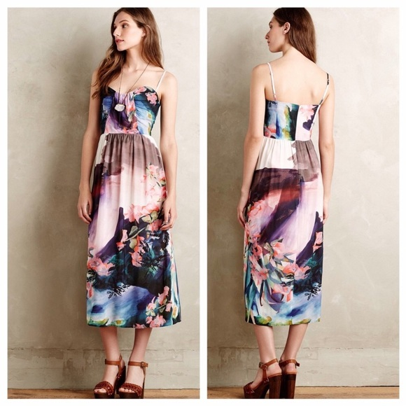 a841d3ccb8fd5 Anthropologie Dresses & Skirts - NWOT Corey Lynn Calter Daybreak midi dress